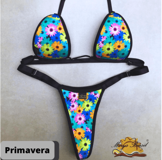 Biquíni para Bronzeamento Marys Brasil - Primavera