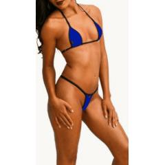 Biquíni para Bronzeamento Marys Brasil - Azul